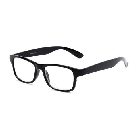 Readers.com The Buchanon Retro Square Reading Glasses