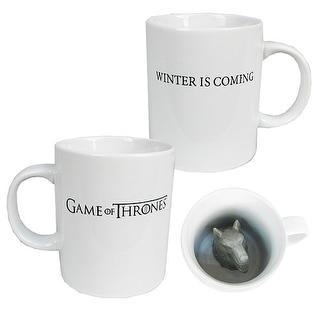 Game of Thrones Sculpted Direwolf 12oz Mug - Multi