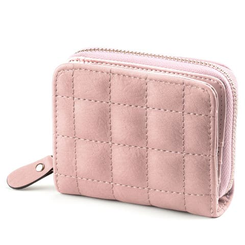New Small Coins Credit Cards Zipper Card Holder Short Paragraph Wallet for Lady