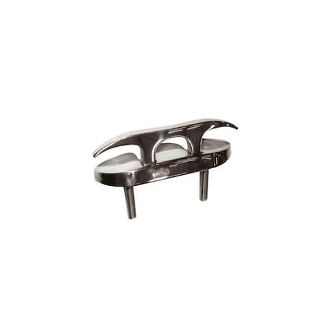 Whitecap Folding Cleat - Stainless Steel Studded - 4-1/2 Folding Cleat - Stainless Steel Studded - 4-1/2