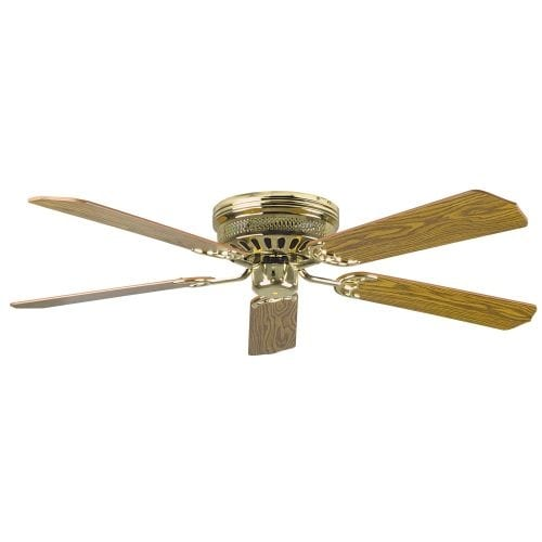 "Concord 52HUG5 Hugger 52"" 5 Blade Ceiling Fan with Blades Included"
