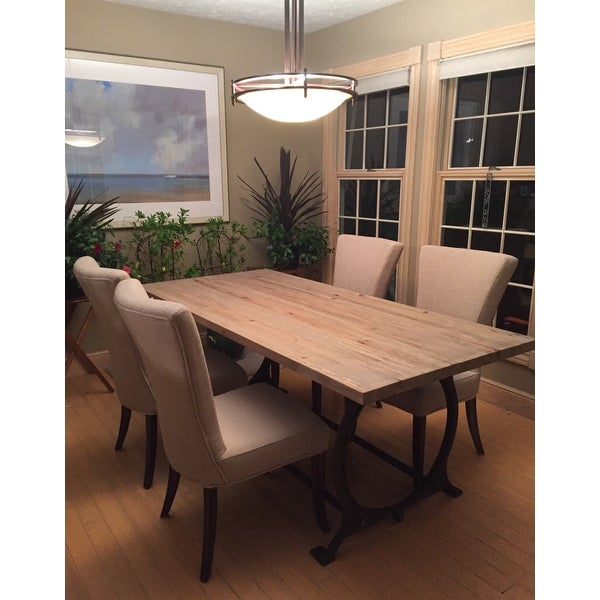 Effuse Wood Top Dining Table Brown On Free Shipping Today 9083109