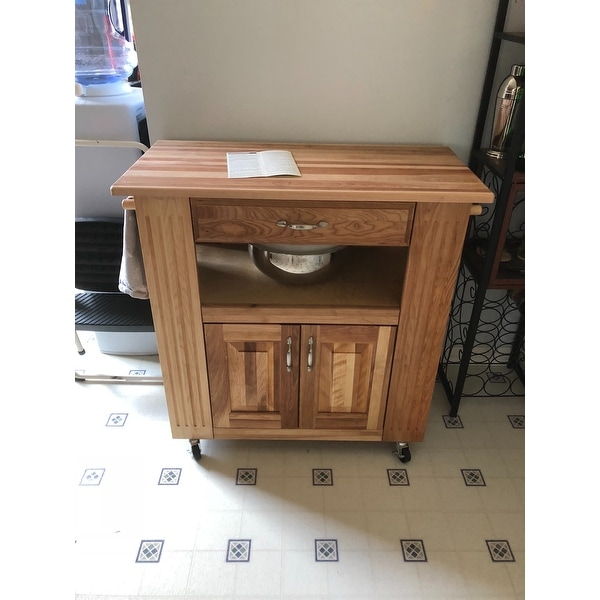 HeartoftheKitchen Island With Drop Leaf Free Shipping Today - Kitchen island with folding leaf