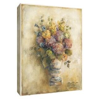 "PTM Images 9-154682  PTM Canvas Collection 10"" x 8"" - ""Dreamy Hydrangeas I"" Giclee Hydrangeas Art Print on Canvas"