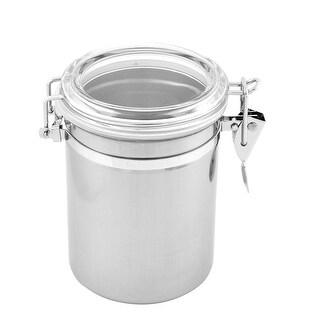 Unique Bargains Kitchen Airtight-seal Airproof Bean Snack Tea Jam Storage Container Jar