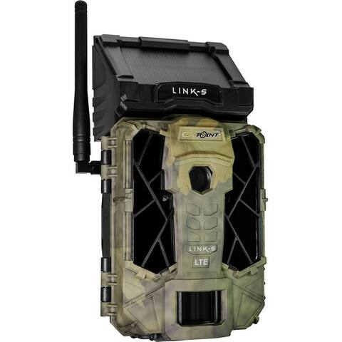 Spypoint links spypoint trail cam link solar at&t 12mp low glow camo