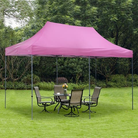 Zenova 10x20 ft Pop up Canopy Tent, Party Tent Heavy Duty Instant Shelters - N/A