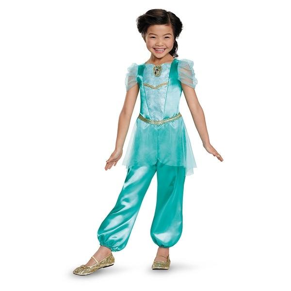 Girls Classic Jasmine Disney Princess Costume  sc 1 st  Overstock.com & Girls Classic Jasmine Disney Princess Costume - Free Shipping On ...