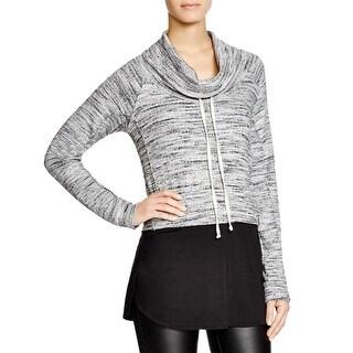 Splendid Womens Tunic Sweater Ribbed Knit Marled