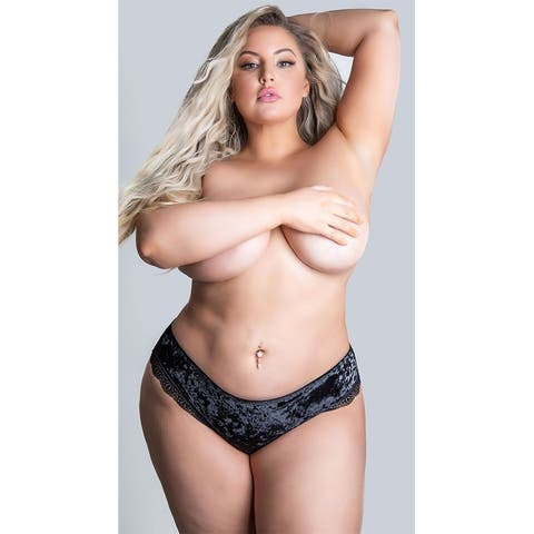 Plus Size Amalie Velvet Panty