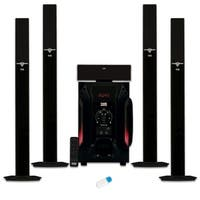 Acoustic Audio AAT1003 Tower 5.1 Speaker System with USB Bluetooth & Powered Sub