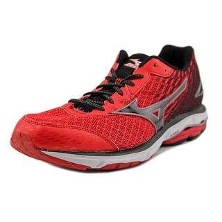 Mizuno Wave Rider 19 Men  Round Toe Synthetic Red Running Shoe