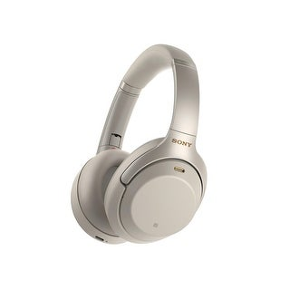Link to Sony WH1000XM3 Bluetooth Wireless Noise Canceling Headphones Silver Similar Items in Headphones