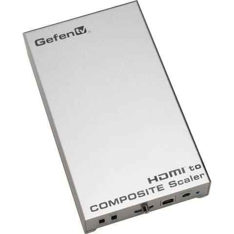 Gefen GTV-HDMI-2-COMPSVIDSN Gefen HDMI to Composite Scaler - Functions: Video Scaling - 1920 x 1080 - NTSC, PAL - USB - Audio