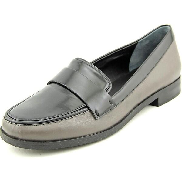 Franco Sarto Valera Women  Round Toe Leather Gray Loafer