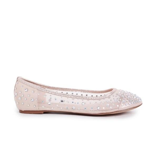 Shop Embellished - Mesh Ballet Flat - - Embellished 16701559 78a707