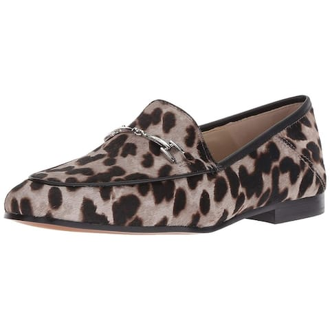 2faa5e3b9 Sam Edelman Womens Loraine Leather Almond Toe Loafers