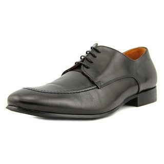 Gianfranco Lattanzi Saffiano Round Toe Leather Oxford