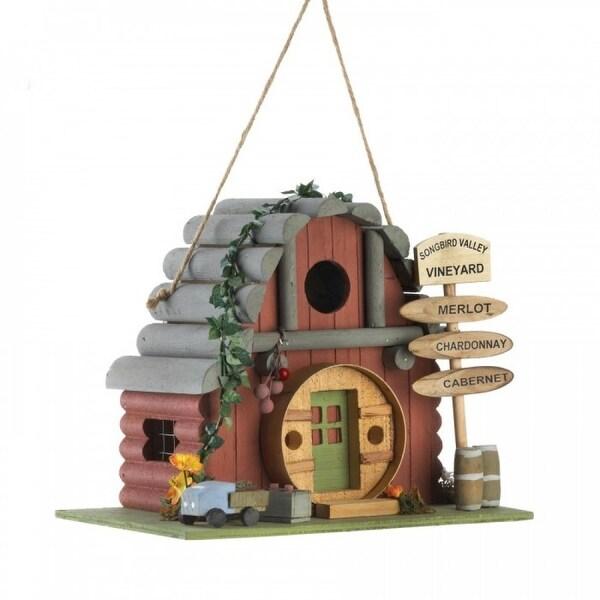 Wine Tasting Room Birdhouse