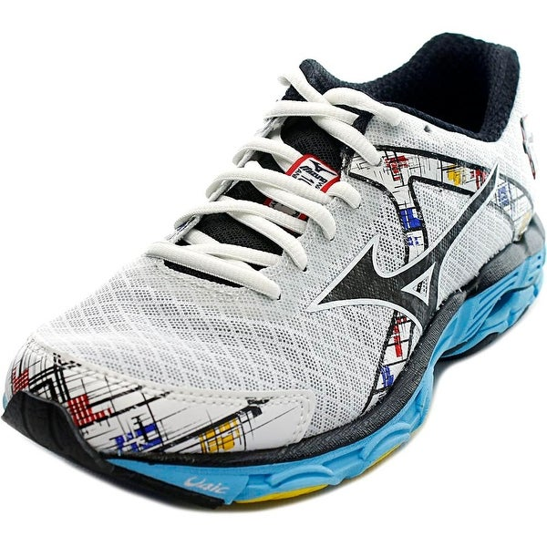 Mizuno Wave Inspire 10 D Round Toe Synthetic Running Shoe