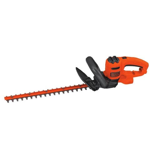 Black & Decker BEHT200 Electric Hedge Trimmer with 3.5 Amp Motor, 18""