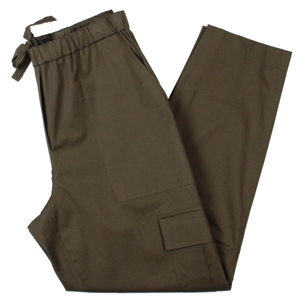 Theory Womens Easy Cargo Pants Casual Pockets - Chino Wash. Opens flyout.