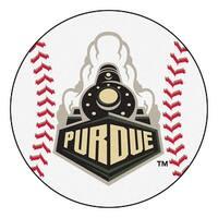 Purdue University Boilermakers Baseball Area Rug