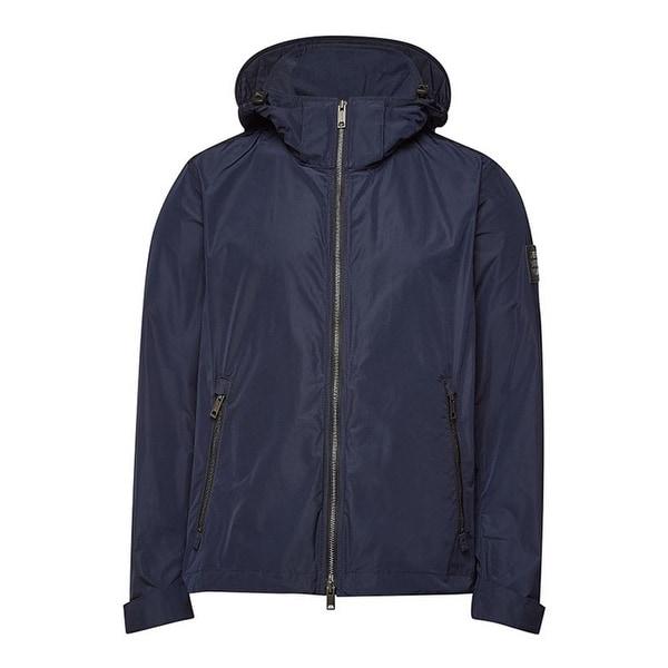 mens blue burberry jacket