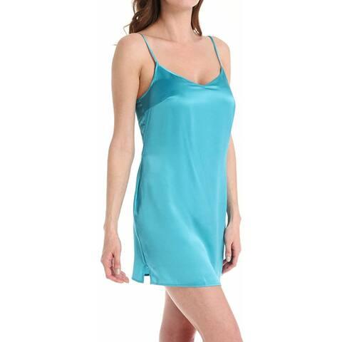 La Perla Turquoise Slip L