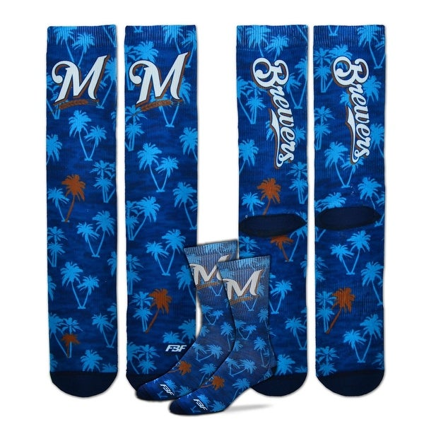 Milwaukee Brewers Bananas Socks