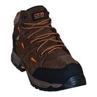 McRae Industrial Men's Composite Toe Met Guard Hiker MR83701 Brown Suede