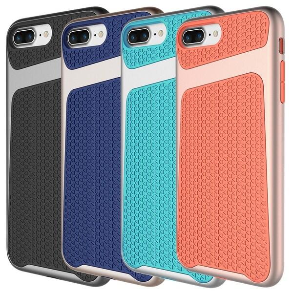 Apple iPhone 7 Plus Slim Shockproof Hybrid Hard Bumper Soft Case