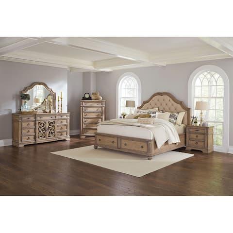 Covington Traditional 4-piece Storage Bedroom Set