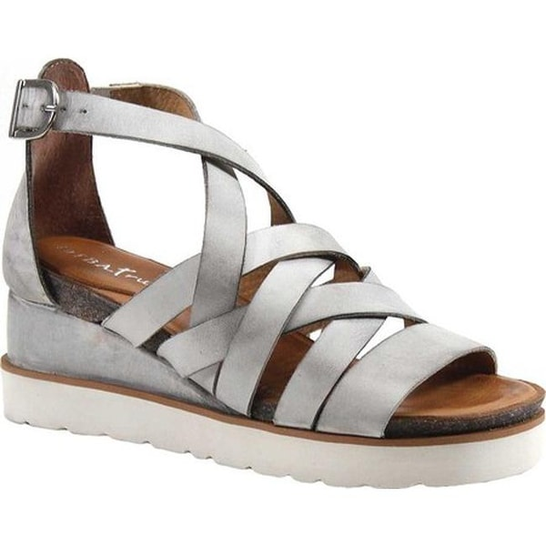 e6b93688b Shop Diba True Women s Good For Me Strappy Sandal White Leather - Free  Shipping Today - Overstock - 20722446