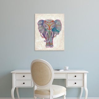 Easy Art Prints Chariklia Zarris's 'Festival Elephant II' Premium Canvas Art