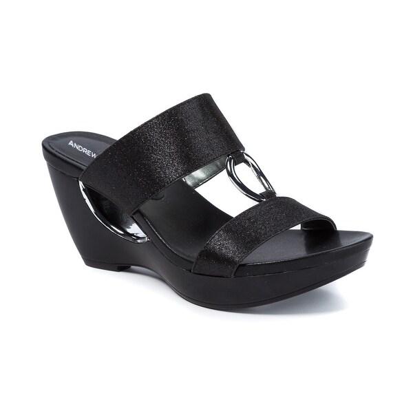 Andrew Geller Aylee Women's Sandals & Flip Flops Black