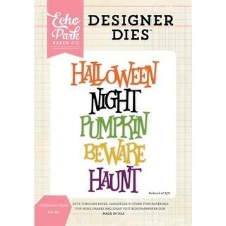 Echo Park Dies-Halloween Night Word