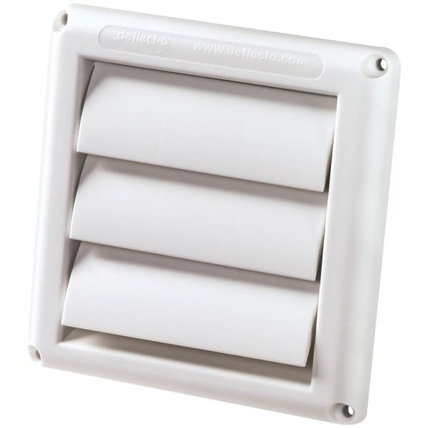 Deflecto Hs4W/18 Supurr-Vent(R) Replacement Vent Hood (White)