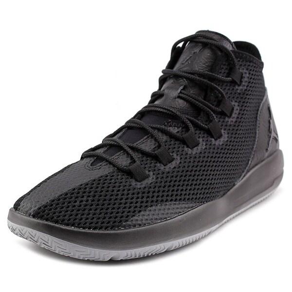 Jordan Reveal Men Round Toe Synthetic Black Sneakers
