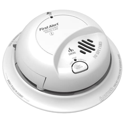 First Alert SC02B Smoke & Carbon Monoxide Alarm, White
