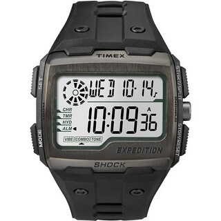 Timex Expedition Grid Shock - Black Expedition Grid Shock