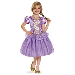 Girls Classic Rapunzel Tangled Disney Costume