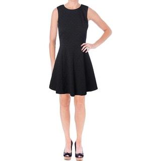 Theory Womens Textured Lined Casual Dress