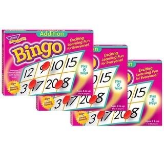 (3 Ea) Bingo Addition Ages 6 & Up