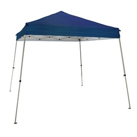 Sunnydaze Quick-Up Slate Leg Canopy or Canopy and Sidewall Set