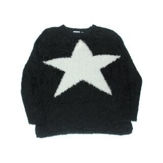 525 America Womens Tunic Sweater Eyelash Knit