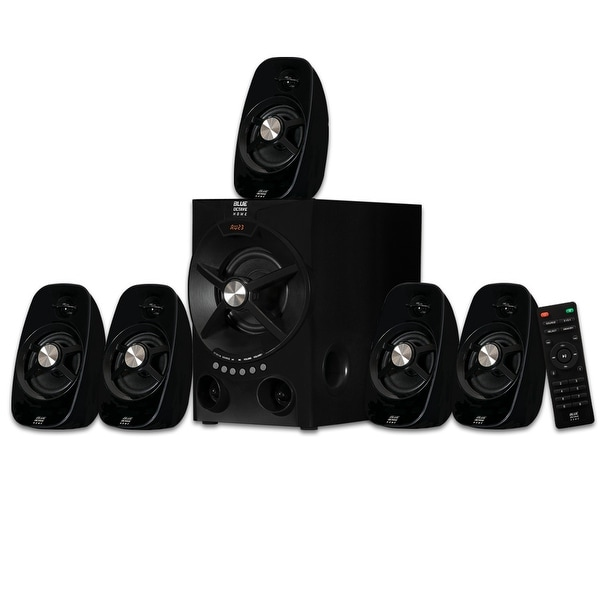 Blue Octave B54 Home Theater 5.1 Bluetooth Speaker System with USB / SD