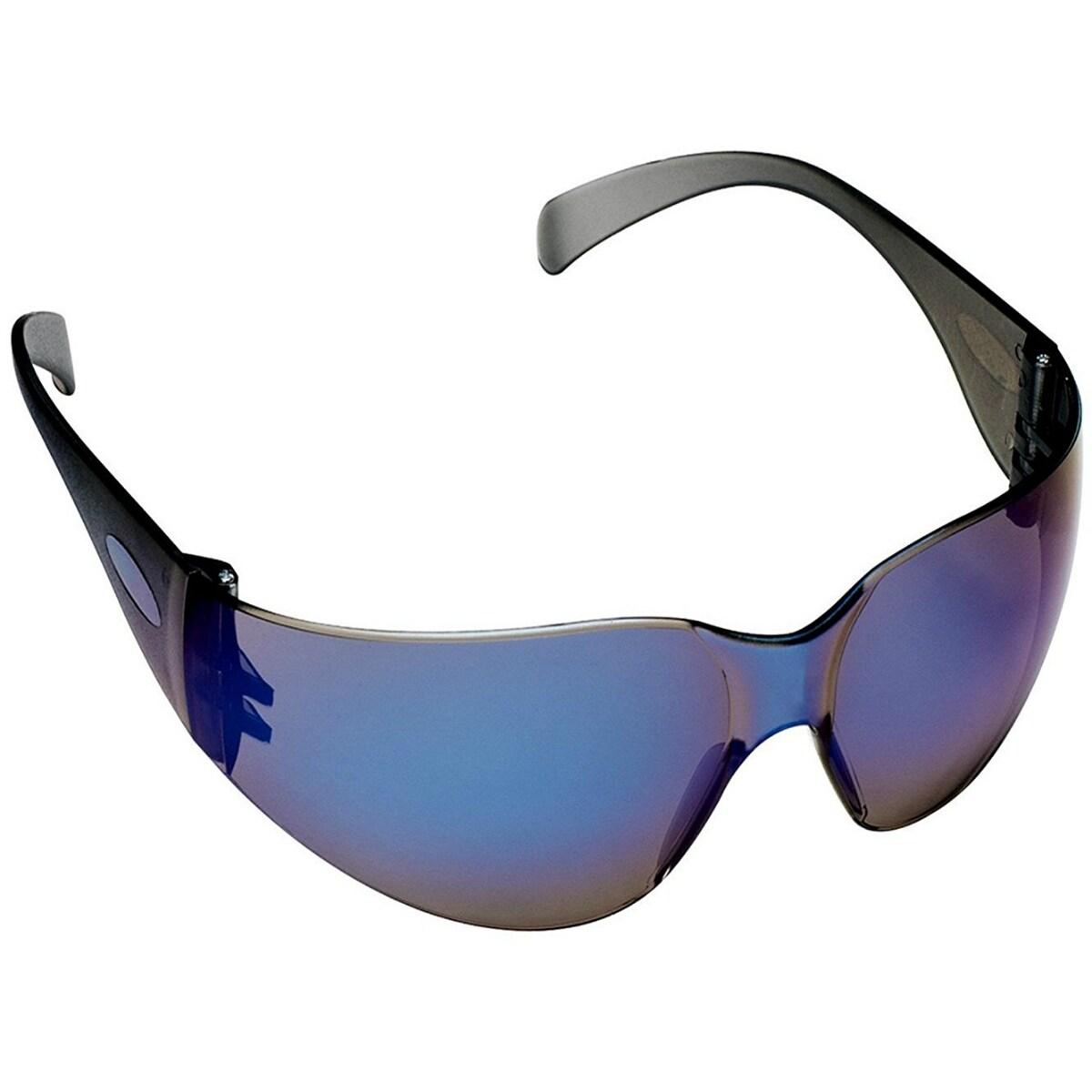 3M 90525-80025T Tekk Protection Virtua Safety Eyewear with Blue Mirror Lens