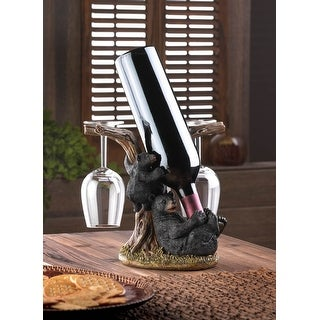 Black Bear Wine Bottle Holder
