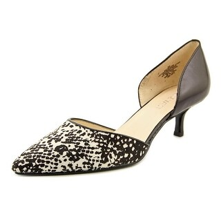 Nine West Selena Women Pointed Toe Leather Black Heels